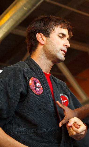 sensei instructor scott sellers atlanta kyusho and jujitsu jiu jitsu
