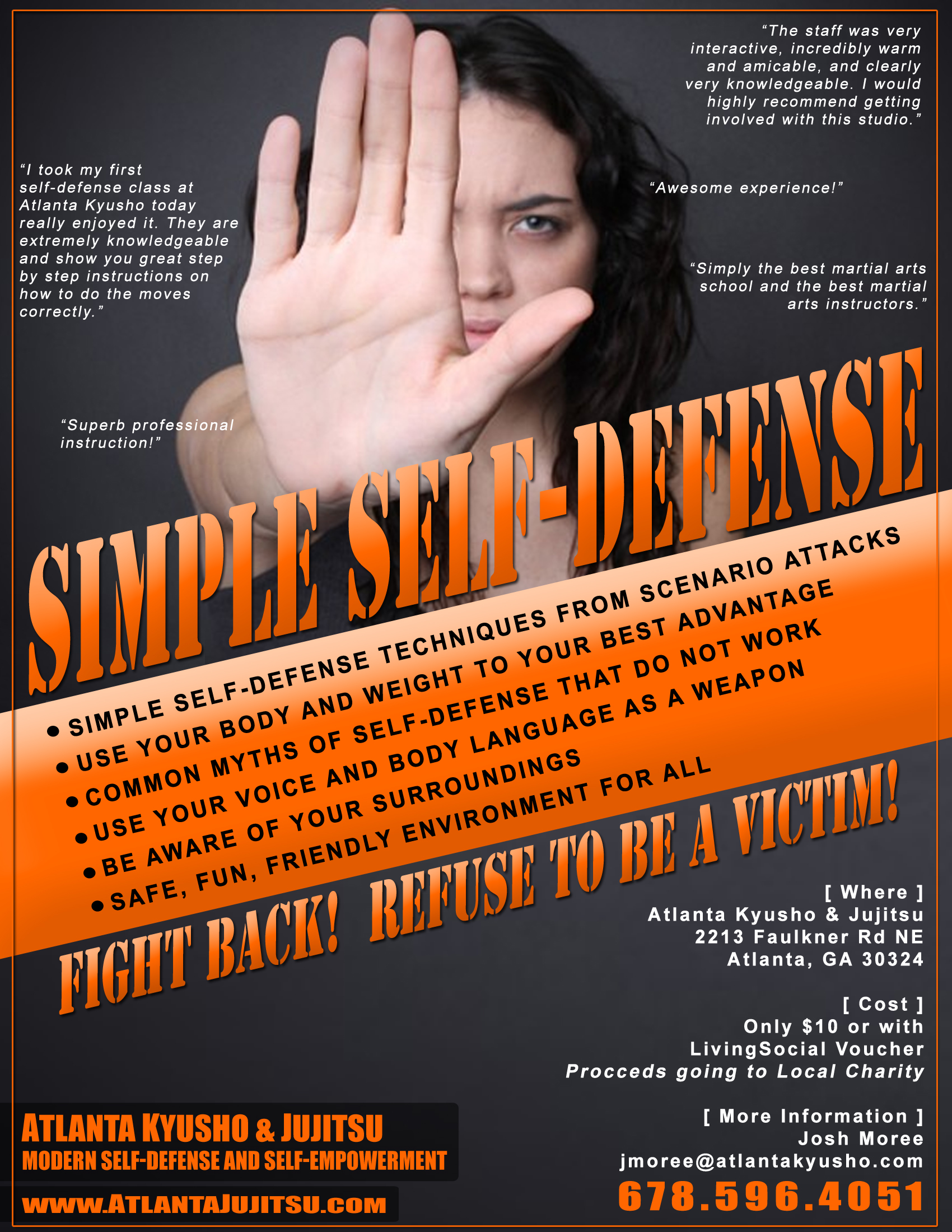 self defense seminars